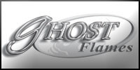 Ghost Flames Vinyl Graphics Stripes Decals