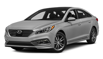 Gray Hyundai Sonata - Ready For Vinyl Graphics Stripes and Decals