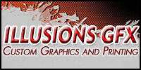 Illusions GFX | Vinyl Graphics Logo