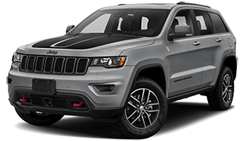 Gray Jeep Grand Cherokee Trailhawk - Ready For Vinyl Graphics Stripes and Decals