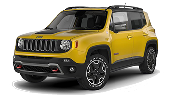 Yello Jeep Renegade - Ready For Vinyl Graphics Stripes and Decals