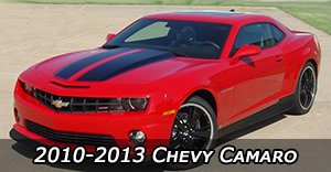 2010-2013 Chevy Camaro Vinyl Graphics Decals Stripe Package Kits