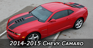 2014-2015 Chevy Camaro Vinyl Graphics Decals Stripe Package Kits