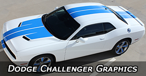 2018 2017 2016 2015 2014 2013 Dodge Challenger Stripes Vinyl Graphics Decals Stripe Package Kits