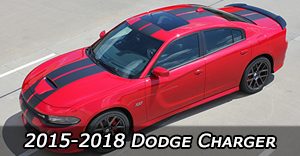 2015 2016 2017 2018 Dodge Charger Vinyl Graphics Decals Stripe Package Kits