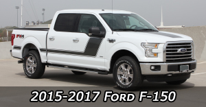 2015 2016 2017 Ford F-150 Vinyl Graphics Decals Stripe Package Kits