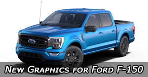 2021 2022 2023 Ford F-150 Stripes Vinyl Graphics Decals Striping Package Kits