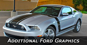 Ford Stripes - Ford Vinyl Graphics - Auto Body Decals - Pin Striping Kits by Model
