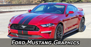 Ford Mustang Stripes, Mustang Vinyl Graphics, Mustang Hood Decals and Body Stripe Kits