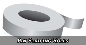 Vinyl Pin Striping Rolls and Kits