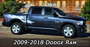 2009-2018 Dodge Ram Vinyl Graphics Decals Stripe Package Kits