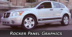Lower Rocker Panel Vinyl Graphics Decals Stripe Package Kits