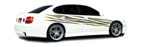 Universal Fit Car Vinyl Graphic Kits