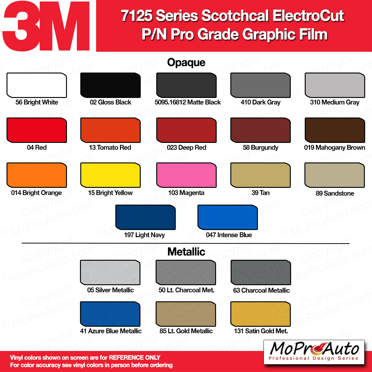 Color chart 3m avery ritrama vinyl colors moproauto product description nvjuhfo Images