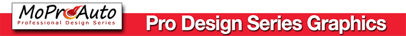 Pro Design Series Vinyl Graphics Stripes Decals