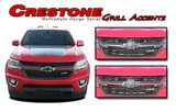 CRESTONE - Chevy Colorado Vinyl Graphics, Stripes and Decals Package by MoProAuto Pro Design Series