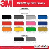 3M 1080 Wrap Series Color Options - Dry Installation Vinyl