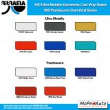 Ritrama Cast Series Color Options - Wet Installation Vinyl