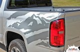 2015 2016 2017 2018 2019 ANTERO - Chevy Colorado Vinyl Graphics, Stripes and Decals Package by MoProAuto Pro Design Series