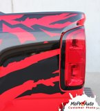 ANTERO - Chevy Colorado Vinyl Graphics, Stripes and Decals Package by MoProAuto Pro Design Series