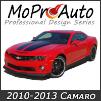 MoProAuto Pro Design Series Vinyl Graphic Decal Stripe Kits for 2010-2013 Chevy Camaro Model Years