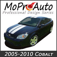 Featuring our MoProAuto Pro Design Series Vinyl Graphic Decal Stripe Kits for 2005-2010 Chevy Cobalt Model Years