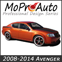 MoProAuto Pro Design Series Vinyl Graphic Decal Stripe Kits for 2008-2014 Dodge Avenger