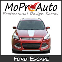 MoProAuto Pro Design Series Vinyl Graphic Decal Stripe Kits for 2013-2016 Ford Escape