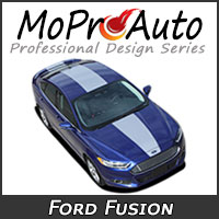 MoProAuto Pro Design Series Vinyl Graphic Decal Stripe Kits for 2013-2016 Ford Fusion
