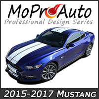 Featuring our MoProAuto Pro Design Series Vinyl Graphic Decal Stripe Kits for New 2015-2017 Ford Mustang Model Year