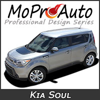 Featuring our MoProAuto Pro Design Series Vinyl Graphic Decal Stripe Kits for 2010-2019 Kia Soul Model Years