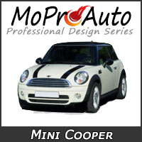 Featuring our MoProAuto Pro Design Series Vinyl Graphic Decal Stripe Kits for 2006-2018 Mini Cooper