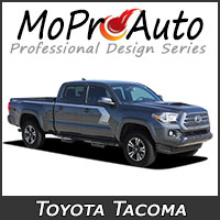 Featuring our MoProAuto Pro Design Series Vinyl Graphic Decal Stripe Kits for 2015-2020 Toyota Tacoma Model Years