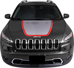 Jeep Cherokee Vinyl Stripes Decals
