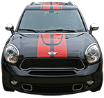 Countryman Vinyl Stripes Decals