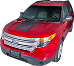 Ford Explorer Vinyl Stripes Decals