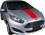 Ford Fiesta Vinyl Stripes Decals