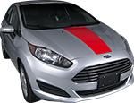 Ford Fiesta Vinyl Stripes Decals