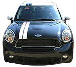 Mini Cooper Vinyl Stripes Decals