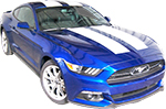 Ford Mustang Vinyl Stripes Decals