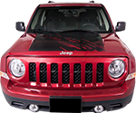 Jeep Patriot Vinyl Stripes Decals