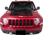 Jeep Patriot Vinyl Stripes Decals