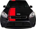 Kia Soul Vinyl Stripes Decals