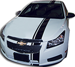 Chevy Cruze Vinyl Stripes Decals