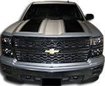 Chevy Silverado Vinyl Graphics Stripes Decals