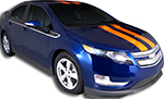 Chevy Volt Vinyl Stripes Decals