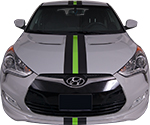 Hyundai Veloster Vinyl Stripes Decals