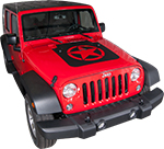Jeep Wrangler Vinyl Stripes Decals