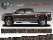 Wild Wood Camouflage : Lower Rocker Panel Graphics Kit 16 inch x 14 foot per side