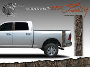 Wild Oak Wild Wood Camouflage : Bed Side Rally with Logo 12 inches x 42 inches